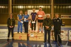 20171202 Coline Rabel vainqueur en double dames à Tournon