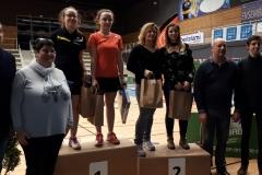 20180304 Roxanne Fayolle Vainqueur, Aurelie Chavanne et Eloise Edeline Finaliste à Bourg De Péage (Double Dames série D)
