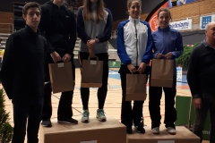 20180304 Lise Malbos vainqueur à Bourg De Péage (Double dame série N3)