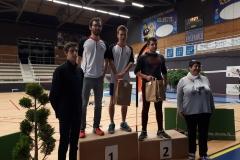 20180304 Mathieu Torres et Bastien Bouveron vainqueur à Bourg De Péage (Double homme série D)
